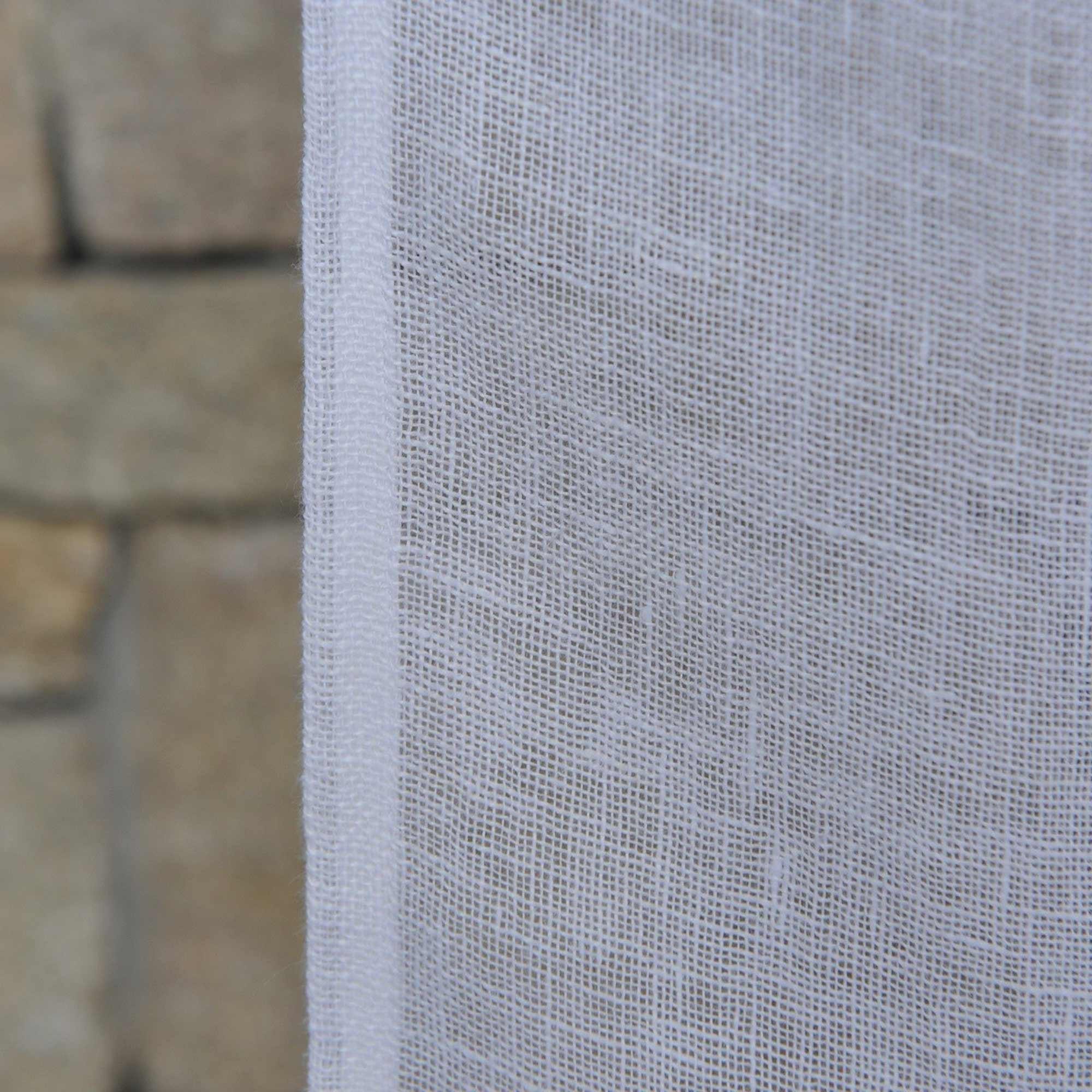 Home > Curtains & Blinds > Curtains > White linen gauze curtain