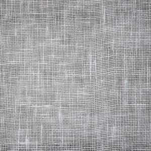 Rideau gaze de lin fine blanc