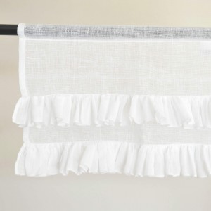 Flounced mini valance