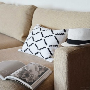 Black & White Remy cushion