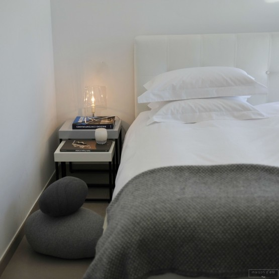 housse de couette en percale de coton blanc 80 fils cm. Black Bedroom Furniture Sets. Home Design Ideas