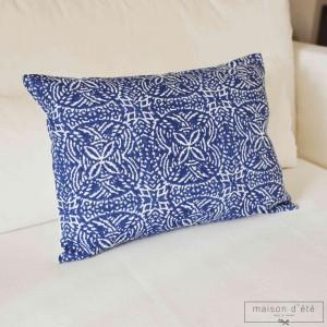 Blue cushion Uzes