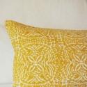 Mustard cushion Uzes