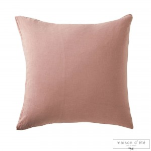 White washed linen pillowcases