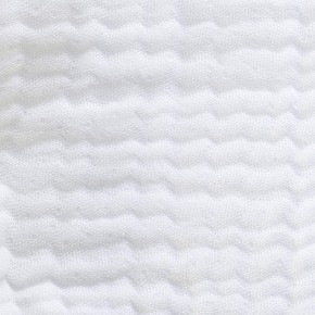 Dessus de lit Ibiza blanc en gaze de coton