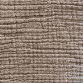 Nude cotton gauze duvet cover