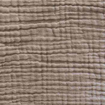 Sand cotton gauze pillow cover