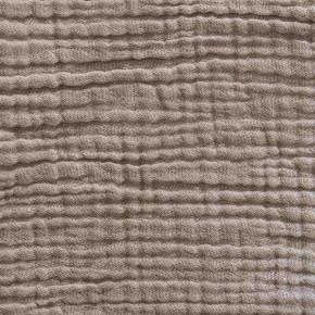 Taie d'oreiller gaze de coton sable