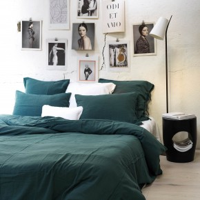 Pillowcase light river cotton gauze