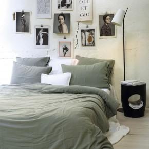 Pillowcase light glacier cotton gauze