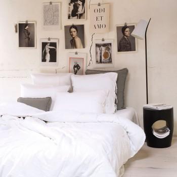 Pillowcase light white cotton gauze