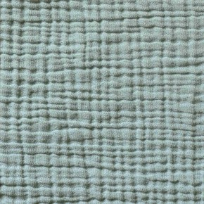 Mineral blue cotton gauze pillox cover