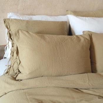 mastic cotton gauze duvet cover