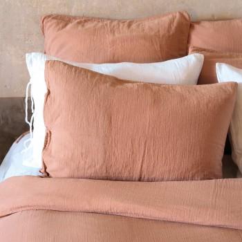 copy of Pillowcase light khaki cotton gauze