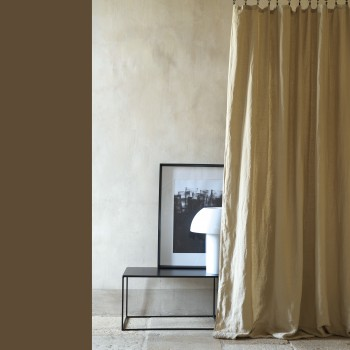 Washed linen curtain mastic 160X270 CM