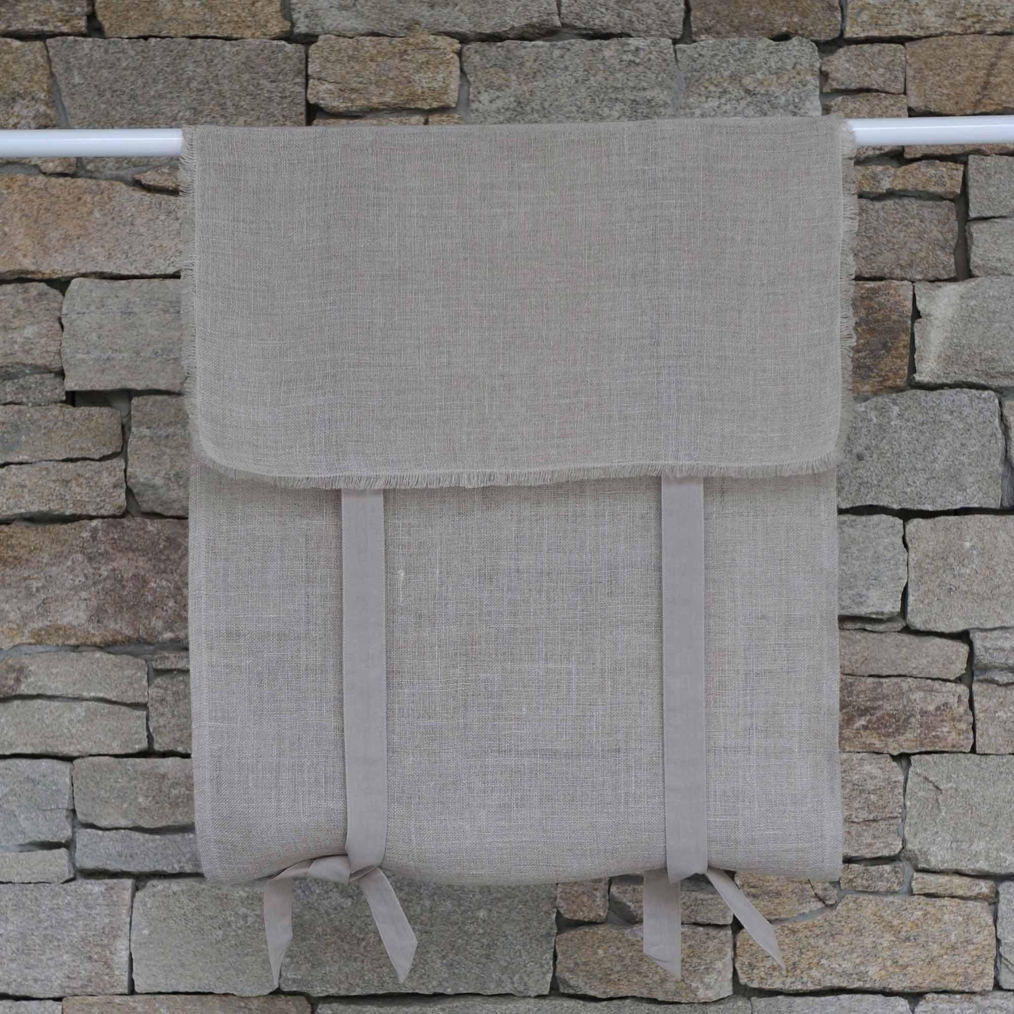 store en lin saint r my naturel maison d 39 t. Black Bedroom Furniture Sets. Home Design Ideas
