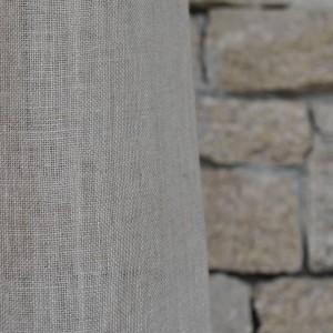 Rideau gaze de lin naturel 140x270cm