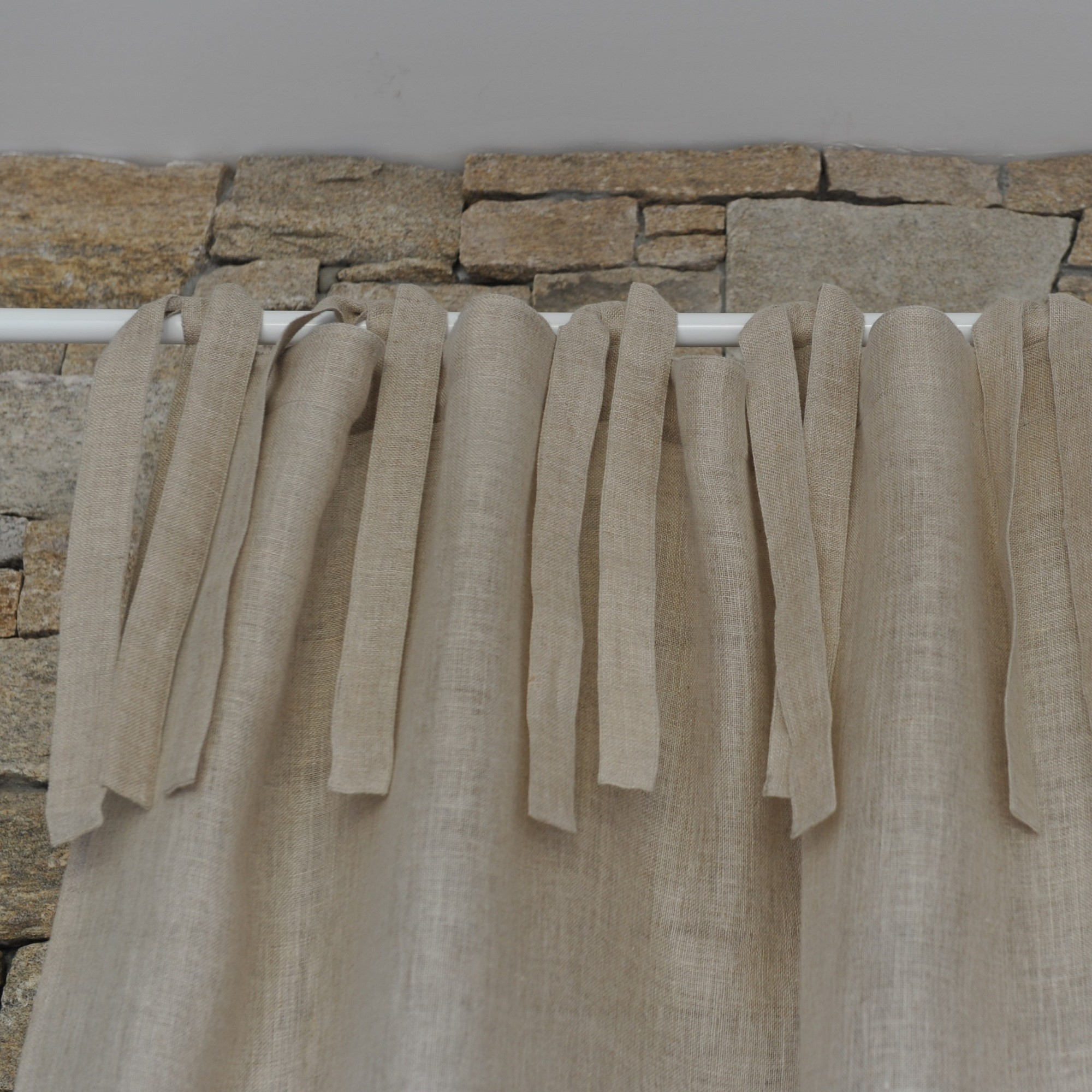 Natural Linen Gauze Curtain Maison D 233 T 233